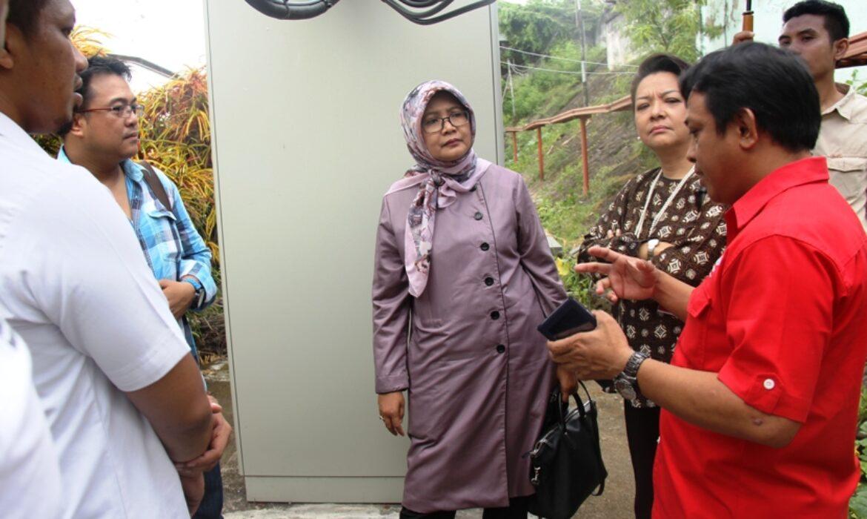 Komisaris Utama Telkom Kunjungi Site Mitratel