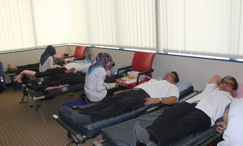 Mitratel Gelar Donor Darah