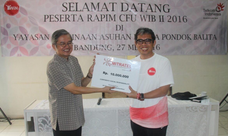 Mitratel Serahkan Bantuan CSR Untuk Pondok Balita