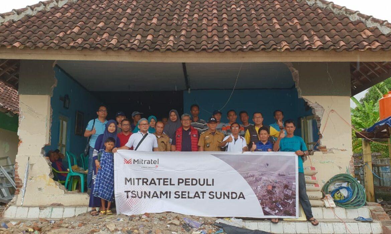 Mitratel Peduli Korban Tsunami Selat Sunda