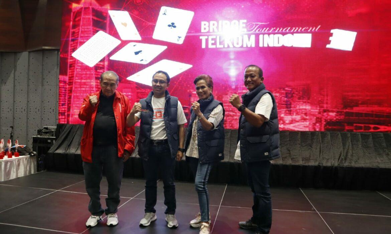 Telkom Group Kembali Menggelar Turnaman Bridge Telkom Indonesia Open 2019