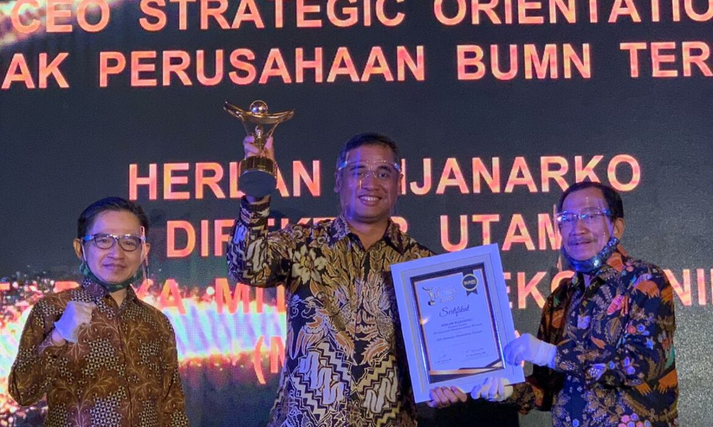 Mitratel Raih Anugerah BUMN Award 2020