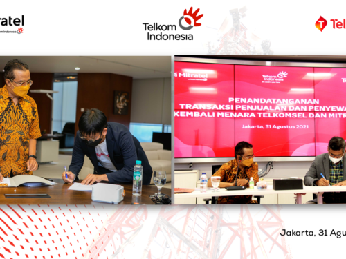 Telkomsel and Mitratel Roll Out Another Corporate Action by Transferring the Ownership of 4.000 Telecommunication Towers