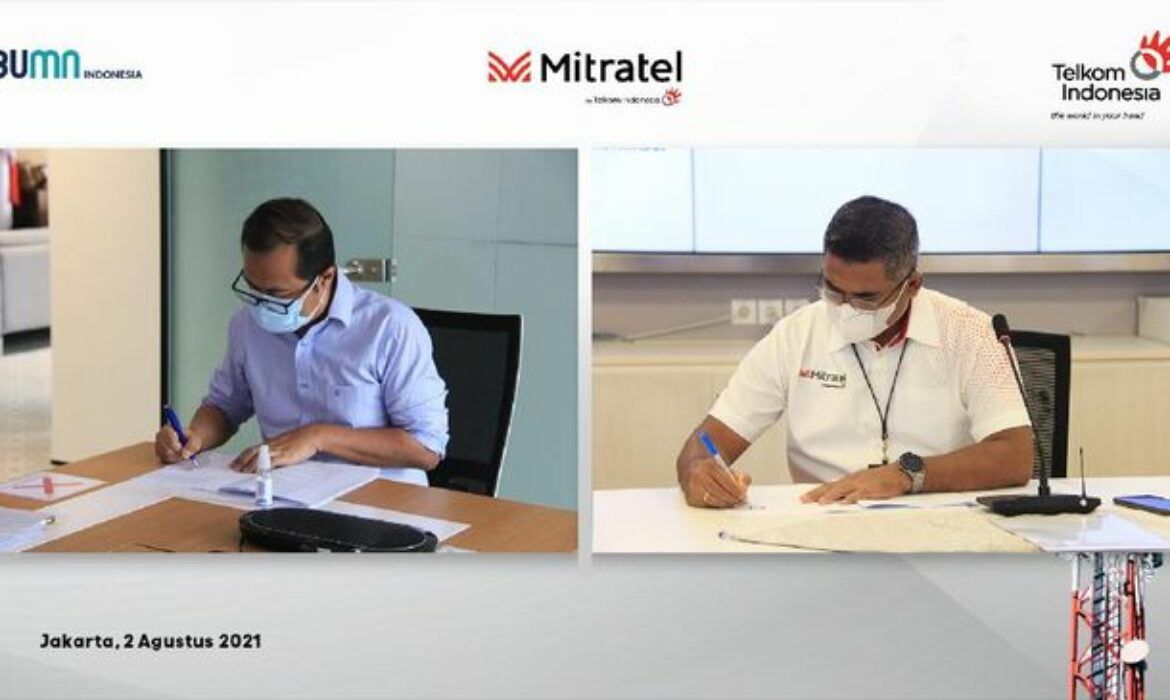 Mitratel Strengthen as the Largest Telecommunication Tower Company in Indonesia After Telkom Transfers 798 Towers